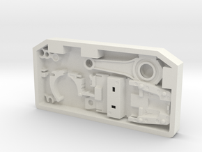 Stock Greeble JK RH in White Natural Versatile Plastic