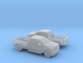 1/160 2X 2011 Toyota Hd Dually in Smooth Fine Detail Plastic