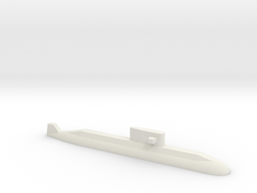 Lada-Class Submarine, 1/1800 in White Strong & Flexible