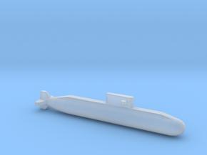 Lada-Class Submarine, Full Hull, 1/2400 in Smooth Fine Detail Plastic