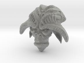 Alien-horns in Metallic Plastic