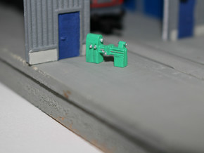 N Scale Lathe (3pc) in Frosted Ultra Detail