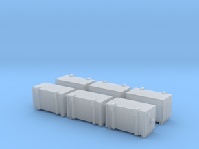 PRR and Conrail Cab Signal Box (N - 1:160) 6X in Smoothest Fine Detail Plastic