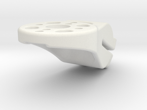 MOTOR MOUNT D16 RIGHT V3 in White Natural Versatile Plastic