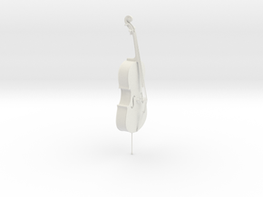 Cello in White Natural Versatile Plastic