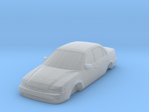 n scale 1998-2000 toyota corolla in Smooth Fine Detail Plastic