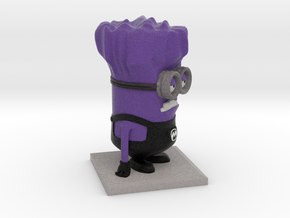 Evil Minion Purple Despicable Me in Full Color Sandstone