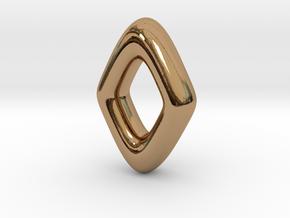 RUNE - Z in Polished Brass