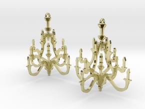 Chandelier Earrings in 18k Gold