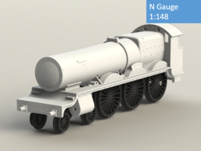 GWR Saint class locomotive, N Gauge in Smoothest Fine Detail Plastic