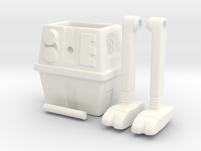 Gonk droid (Ramp walker toy) in White Processed Versatile Plastic