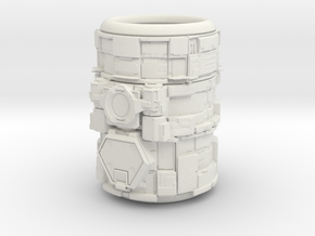 Greeble Penholder in White Strong & Flexible