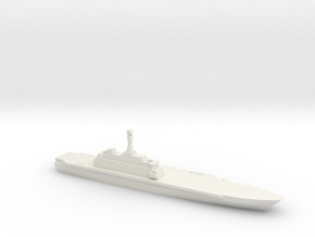 Project 10200 Helicopter Carrier, 1/1800 in White Natural Versatile Plastic