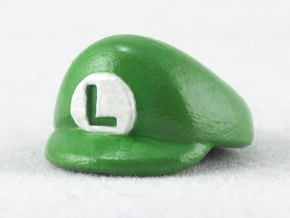 L-Plumber Cap in Smooth Fine Detail Plastic