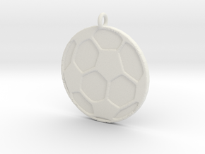 Soccerball in White Strong & Flexible