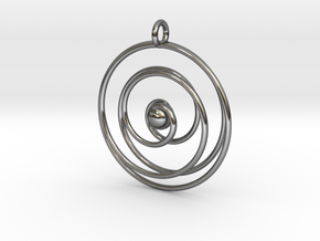 Good cosmic waves in Fine Detail Polished Silver