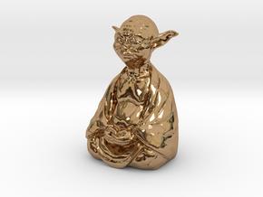 YodaBudda in Polished Brass