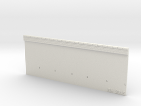 NPV02 Supporting walls in White Natural Versatile Plastic