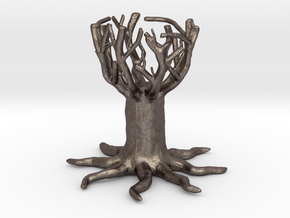 Tree cup- egg holder in Stainless Steel