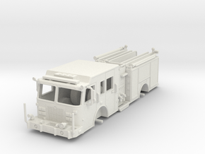 1/87-Scale Contemporary Urban Pumper in White Natural Versatile Plastic