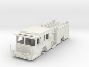 1/87-Scale Contemporary Urban Pumper in White Natural Versatile Plastic