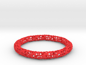 Heart By Heart Bracelet in Red Processed Versatile Plastic