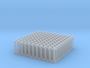 "1:24 Conical Rivet Set (Size: 1.125"") in Smooth Fine Detail Plastic"