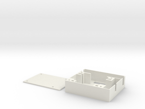 Hitec MG82 Servo Tray - Right in White Natural Versatile Plastic