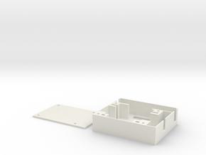 Hitec MG82 Servo Tray - Right in White Natural Versatile Plastic