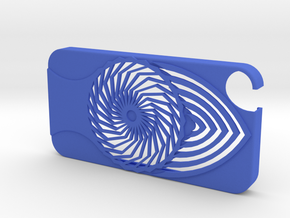 Cover IPhone 4/4s in Blue Processed Versatile Plastic