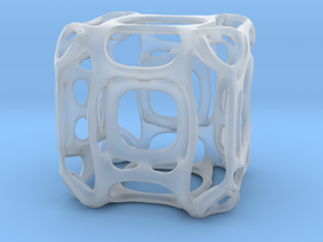 HyperCube A in Smooth Fine Detail Plastic