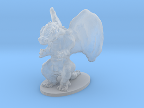 Dragon Miniature in Smooth Fine Detail Plastic