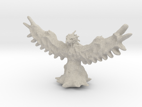 Phoenix Miniature in Natural Sandstone