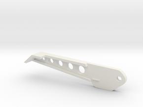 Trifecta Back Leg 30mm in White Natural Versatile Plastic