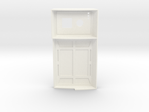 Charge Panel in White Processed Versatile Plastic