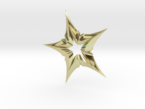 Star In A Star Distortion in 18k Gold