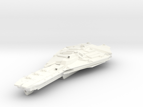 HvyBattleCarrier in White Strong & Flexible Polished