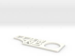 """""""IT WILL NOT DIE"""" Podcast Movement Tool in White Processed Versatile Plastic"""
