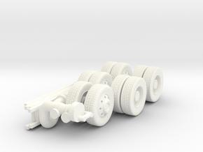 1/87 Jack Daniels Pumper Parts in White Processed Versatile Plastic