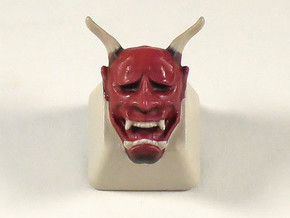 Cherry MX Hannya Keycap in White Natural Versatile Plastic