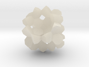 Heptagon-3D-Fill big in White Acrylic