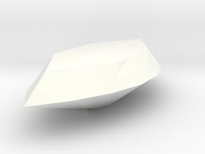 Deer Ring Jewel in White Processed Versatile Plastic