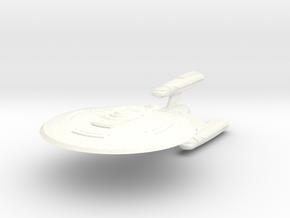 NIAGARA Class Refit III Cruiser in White Processed Versatile Plastic
