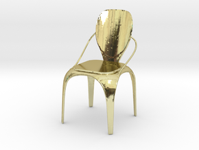 Spring chair in 18k Gold