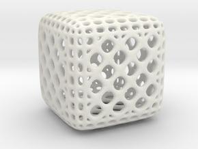 Mehtikruton Object 025 3cm in White Strong & Flexible