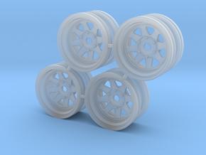 Rim Wagon Wheel Stock offset - Losi McRC/Trekker in Smooth Fine Detail Plastic
