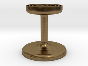 Awen Wax Seal in Natural Bronze