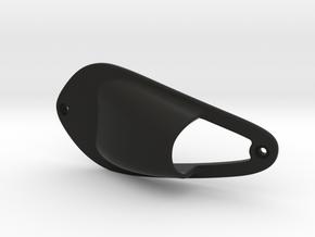 Vent-insert3a in Black Natural Versatile Plastic