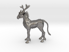 Kirin in Polished Nickel Steel