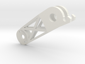 Arms Front Left (YD-5C) in White Natural Versatile Plastic